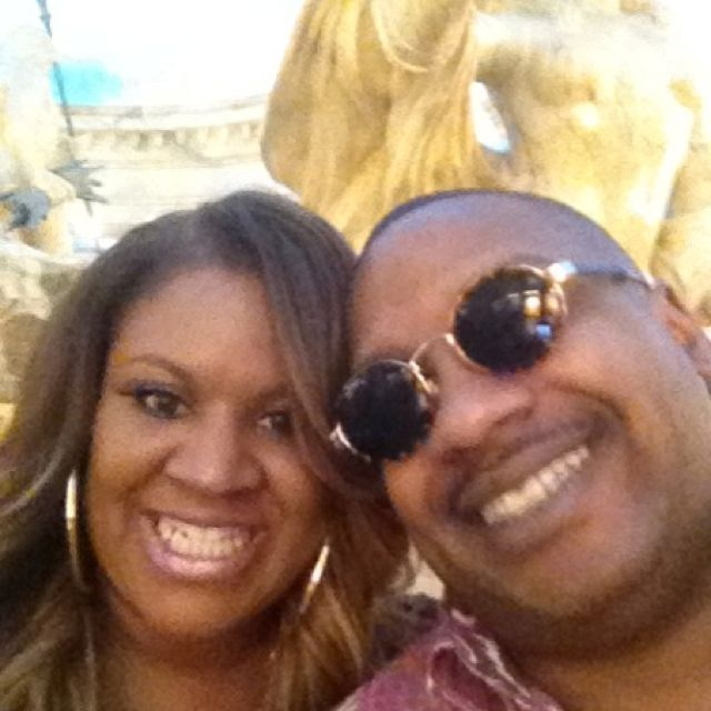 Vegas and hubby