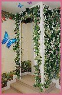 Create an enchanted sleeping space fit for a princess or for Fairy garden bedroom ideas