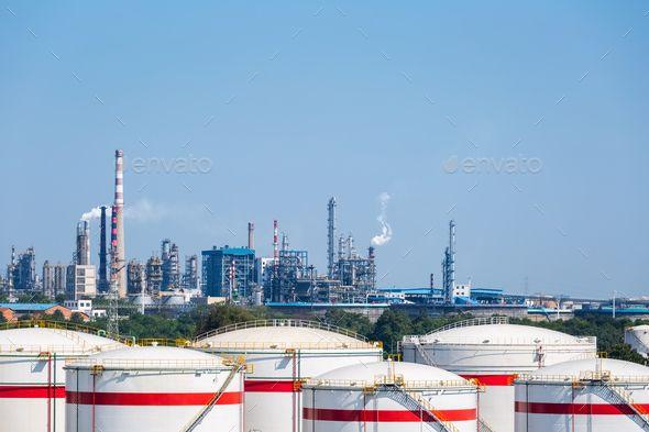 Petrochemical Oil Refinery Oil Refinery Refinery Photo