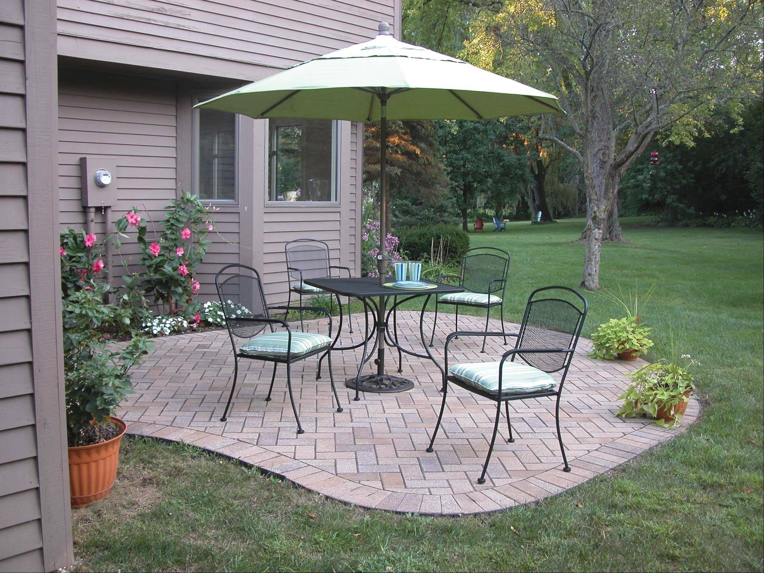 Unique condo patio makeover