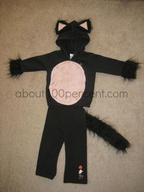 About 100 Little Black Cat - Super easy Halloween Costume you can - super easy halloween costume ideas