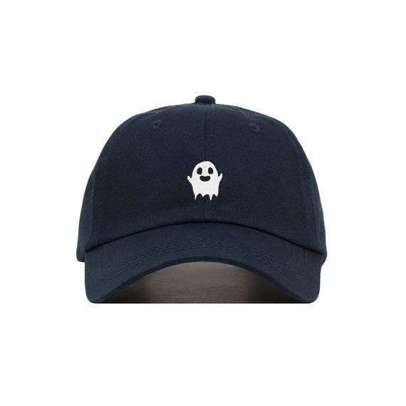 Fantasma de la gorra de béisbol bordada por fairebroderie en Etsy e942283213c