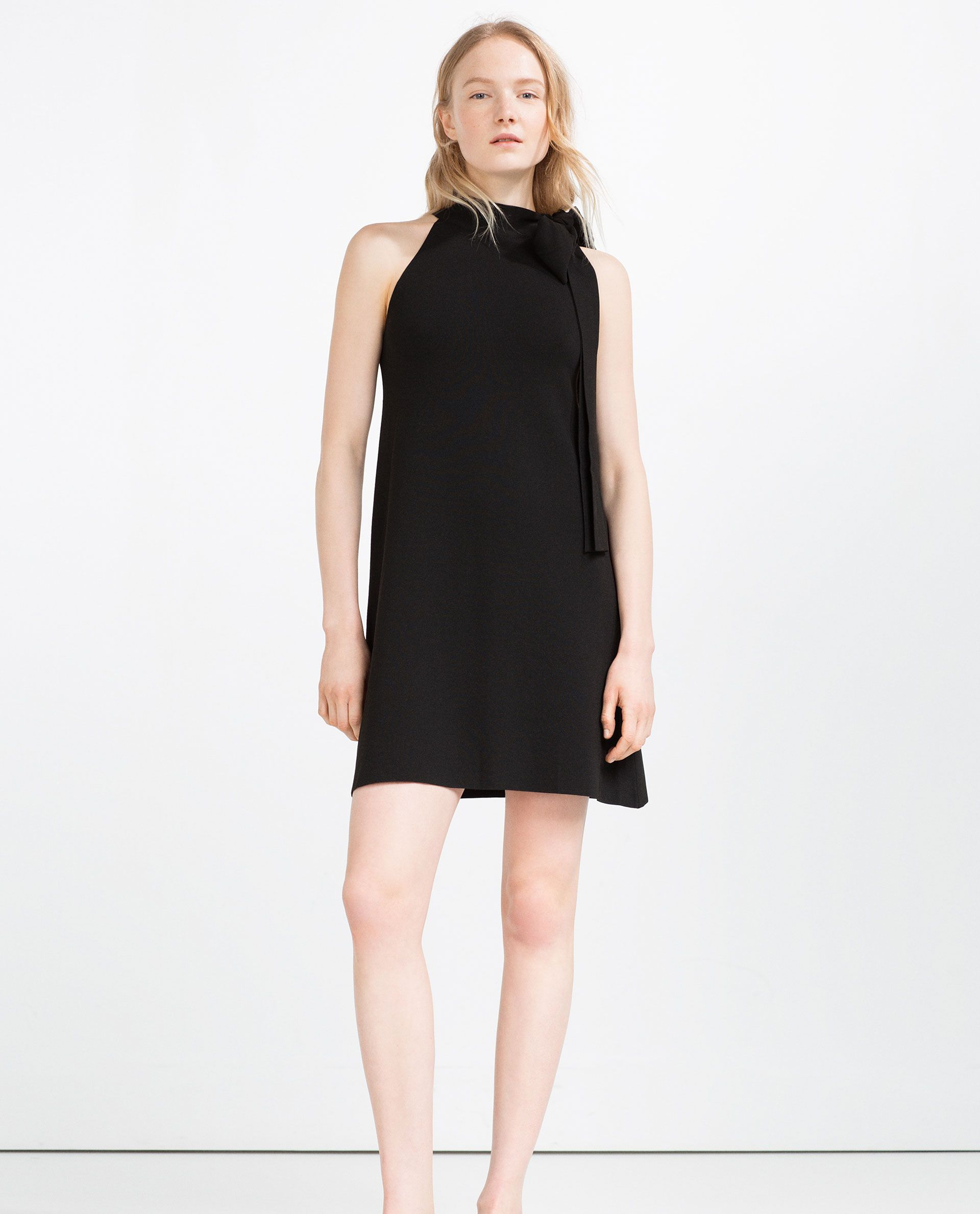 Image of halterneck dress from zara my styles pinterest of