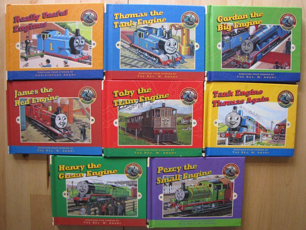 Thomas the Train Lot 8 HC Books The Railway Series VGUC Gordon Percy ...