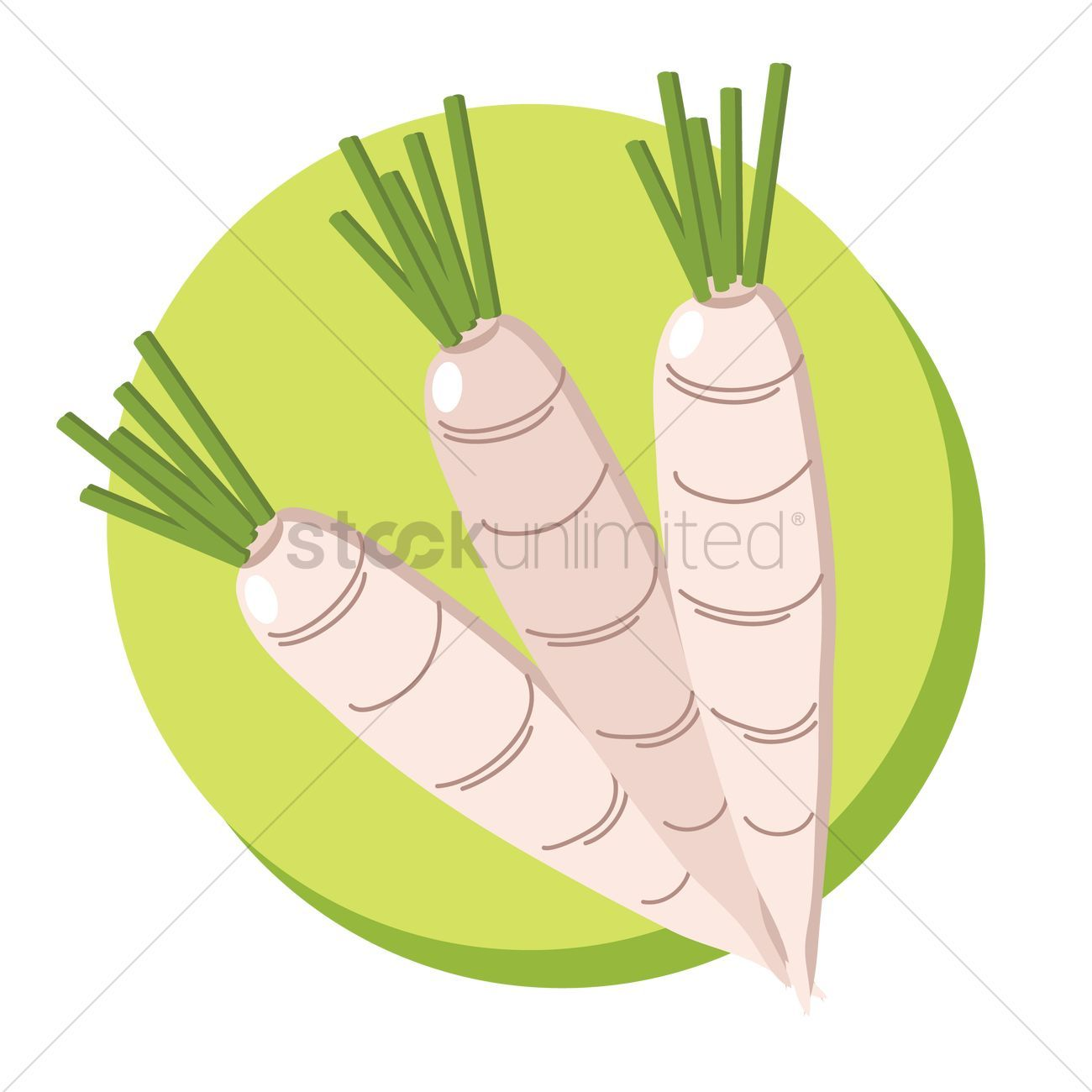 You Don't Have To Be A Designer To Get Awesome Visuals White carrots vectors, stock clipart ,