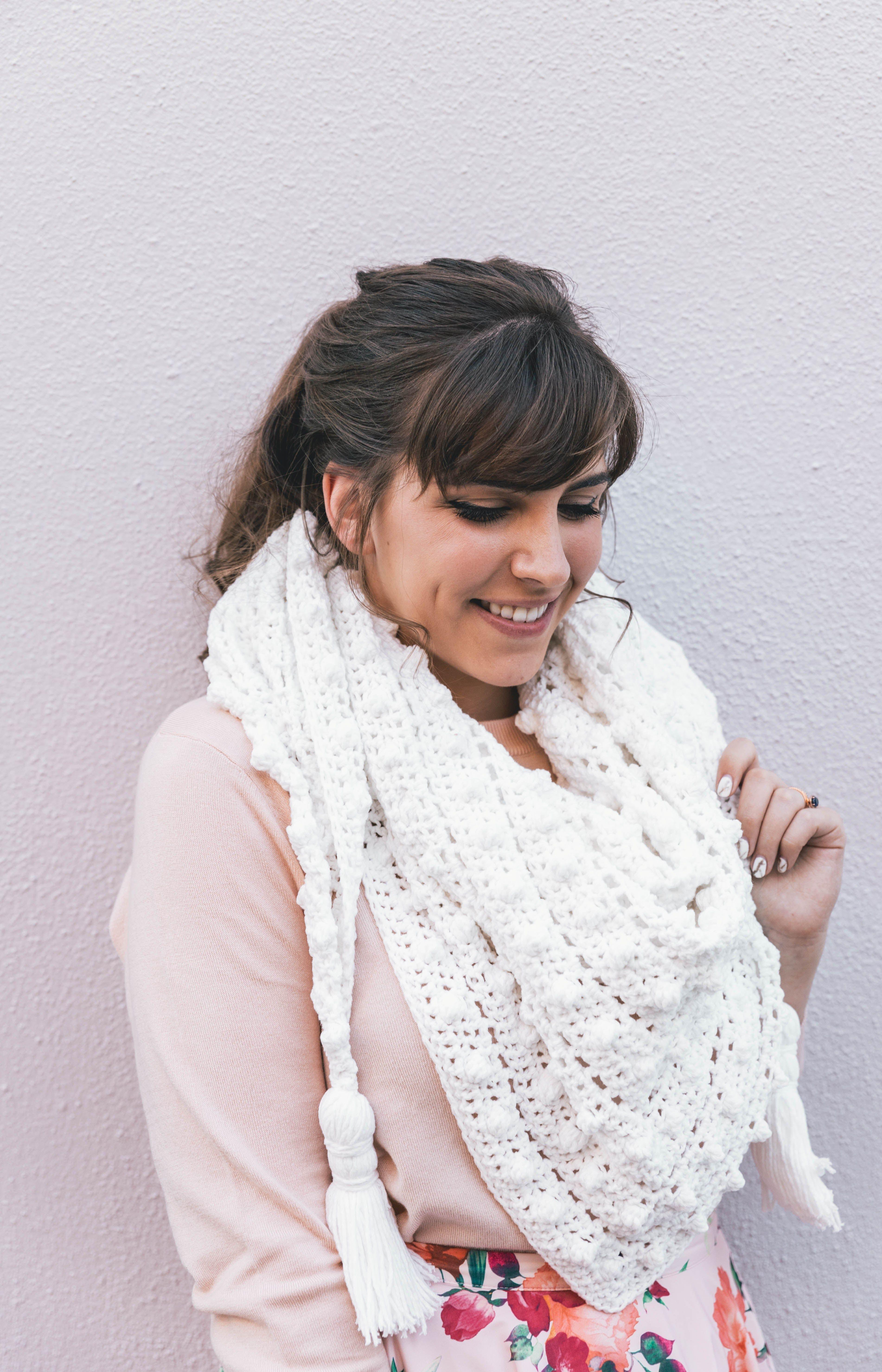 Crochet Le Nuage Wrap | Yarrrn, gurrrl. | Pinterest