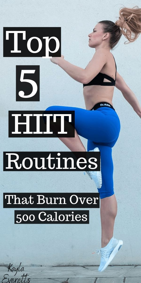 HIIT Workouts That Burn Over 500 Calories