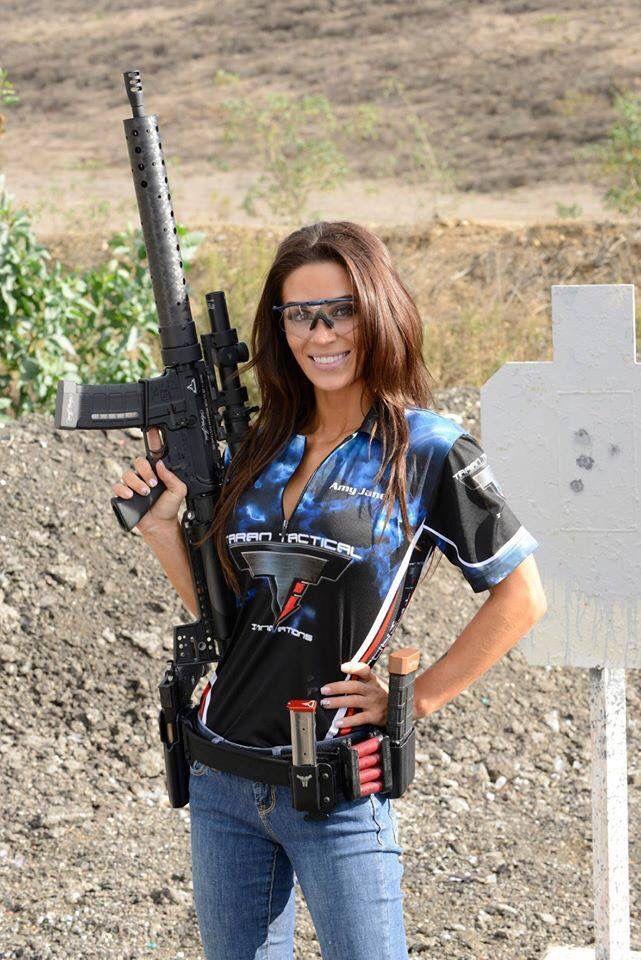Milf with gun