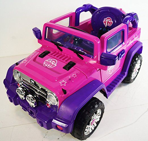 Ride On Car Jeep Wrangler Style Rideonecar For Kids With Remote Control 12v Battery Operated Toys 5 Year Old Boys