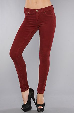 The Stretch Corduroy Pant in Dark Red | Moda, Pantolon ve Ürünler