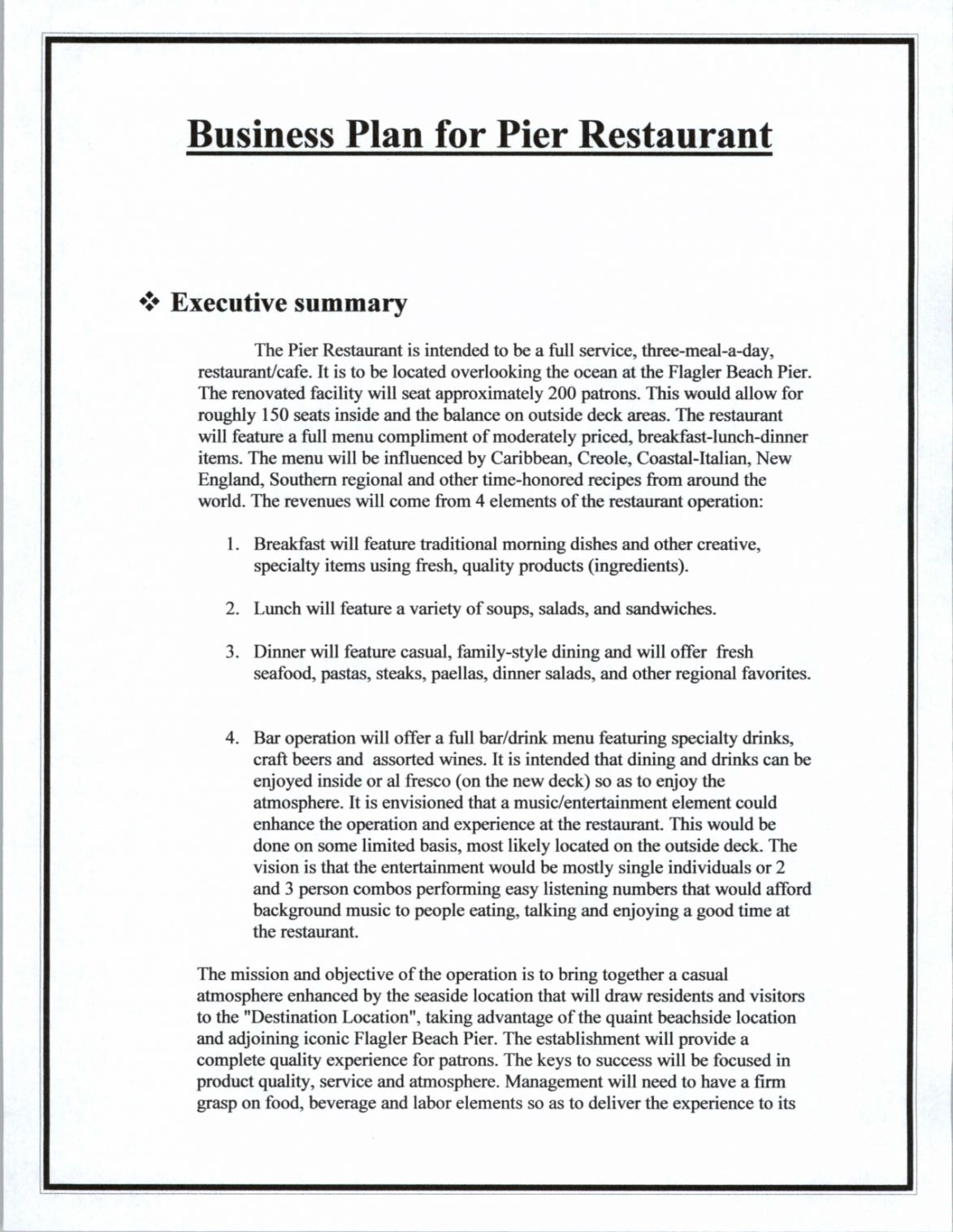 Get Our Image Of Bar Business Plan Template Business Plan Template Word Restaurant Business Plan Business Plan Template Pdf
