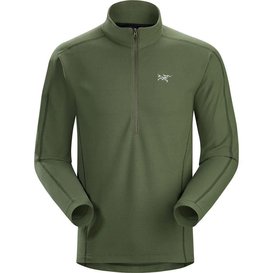 864110905e Arc'teryx Delta LT Zip-Neck Fleece Pullover - Men's | Men's Ski ...