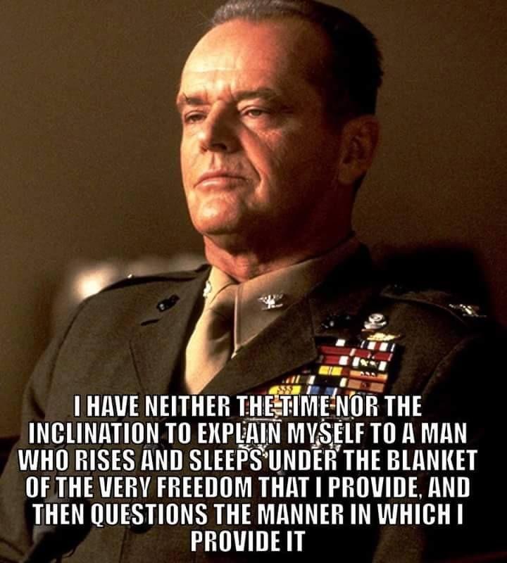 A Few Good Men Quotes A Few Good Men | United States Marine Corps | USMC, A good man  A Few Good Men Quotes