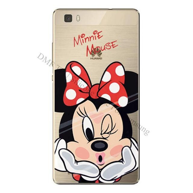 new Cartoon printed Cases For Huawei Ascend P8 Lite | Disney phone ...