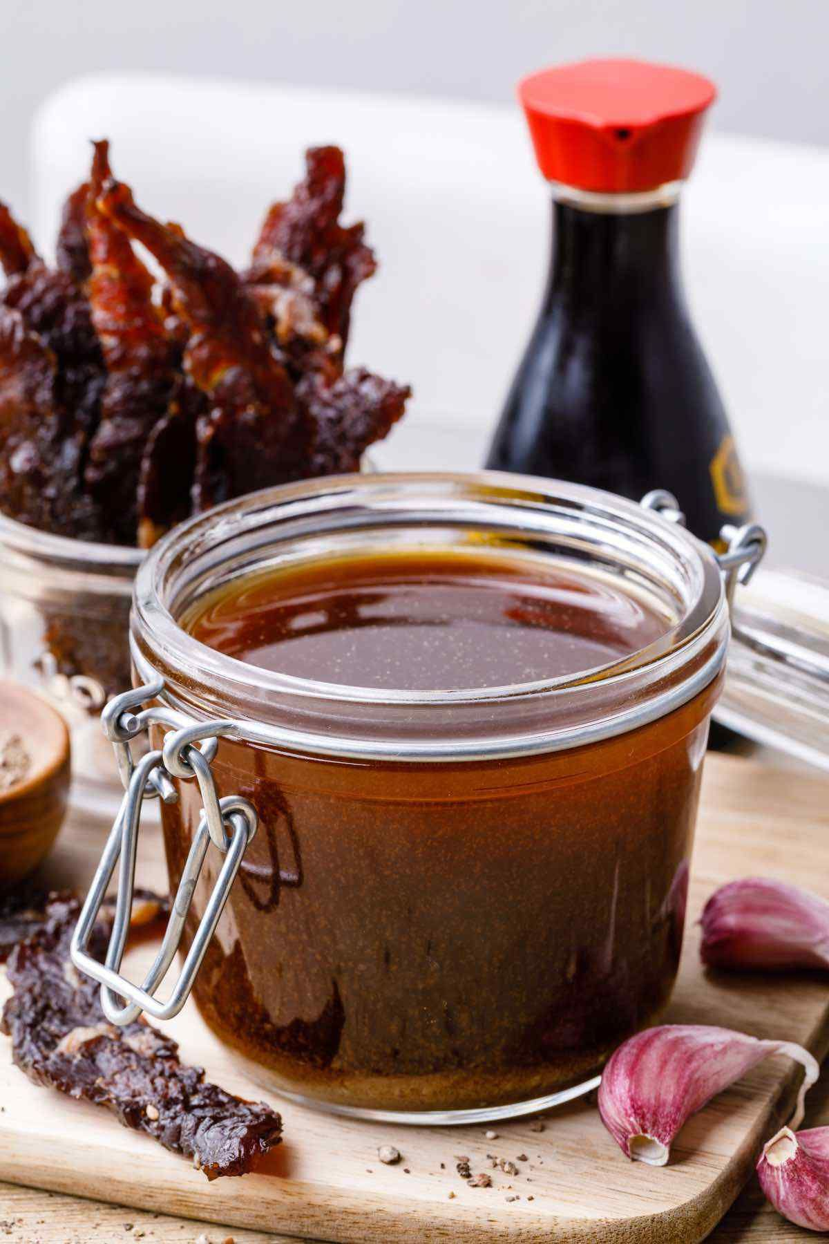 Quick and Easy Homemade Beef Jerky Marinade (Only 5