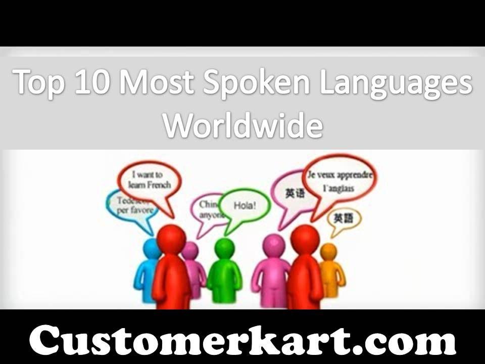 Top Most Spoken Languages Worldwide Customer Care Pinterest - Worldwide languages list