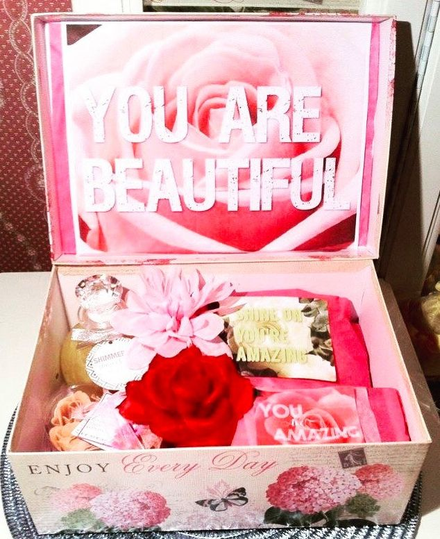 Happy Birthday YouAreBeautifulBox Care Package. Gift for
