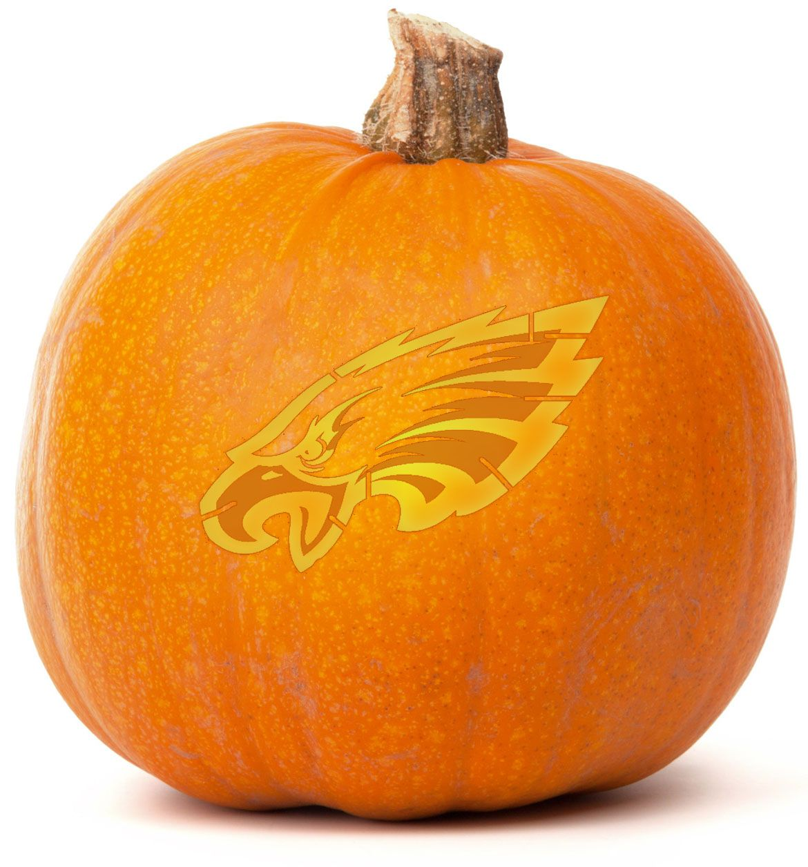 download our free philadelphia eagles pumpkin carving template