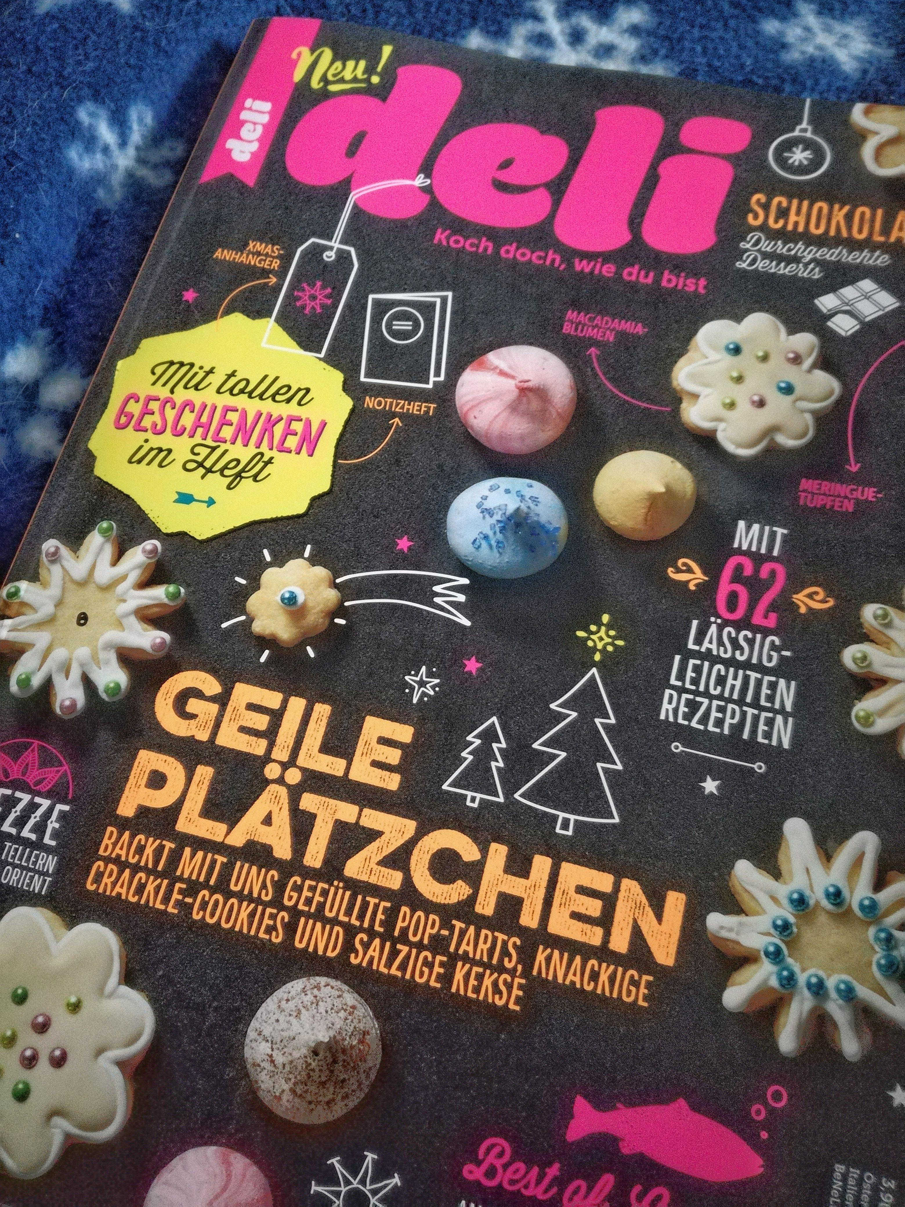 Zeitschrift Rezepte kennt ihr die neue zeitschrift deli backzeitschrift relativ coole