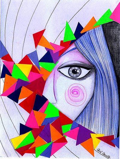Cari Carito Ilustraciones Ilustracion Tecnica Mixta Ilustracion Tecnica Ilustraciones Tecnicas De Dibujo