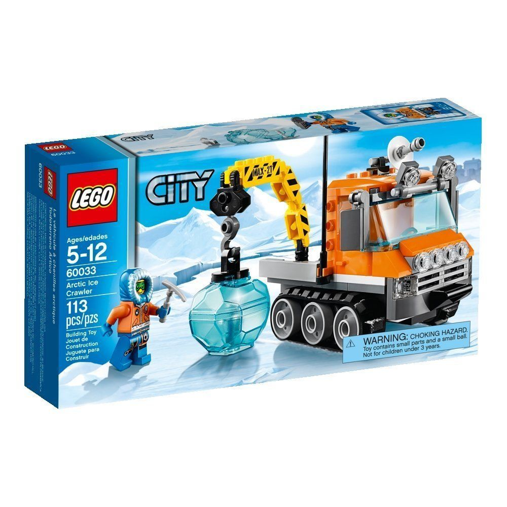 Pin lego 60032 city the lego summer wave in official images on - New Lego City Arctic Ice Crawler Building Toy Toys Free Shipping For Kids Boys Lego