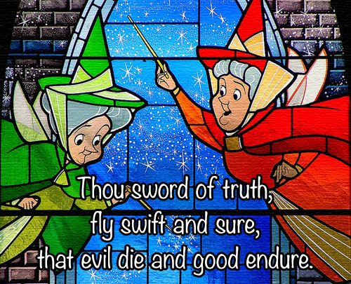Thou Sword Of Truth Fly Swift And Sure That Evil Die And Good