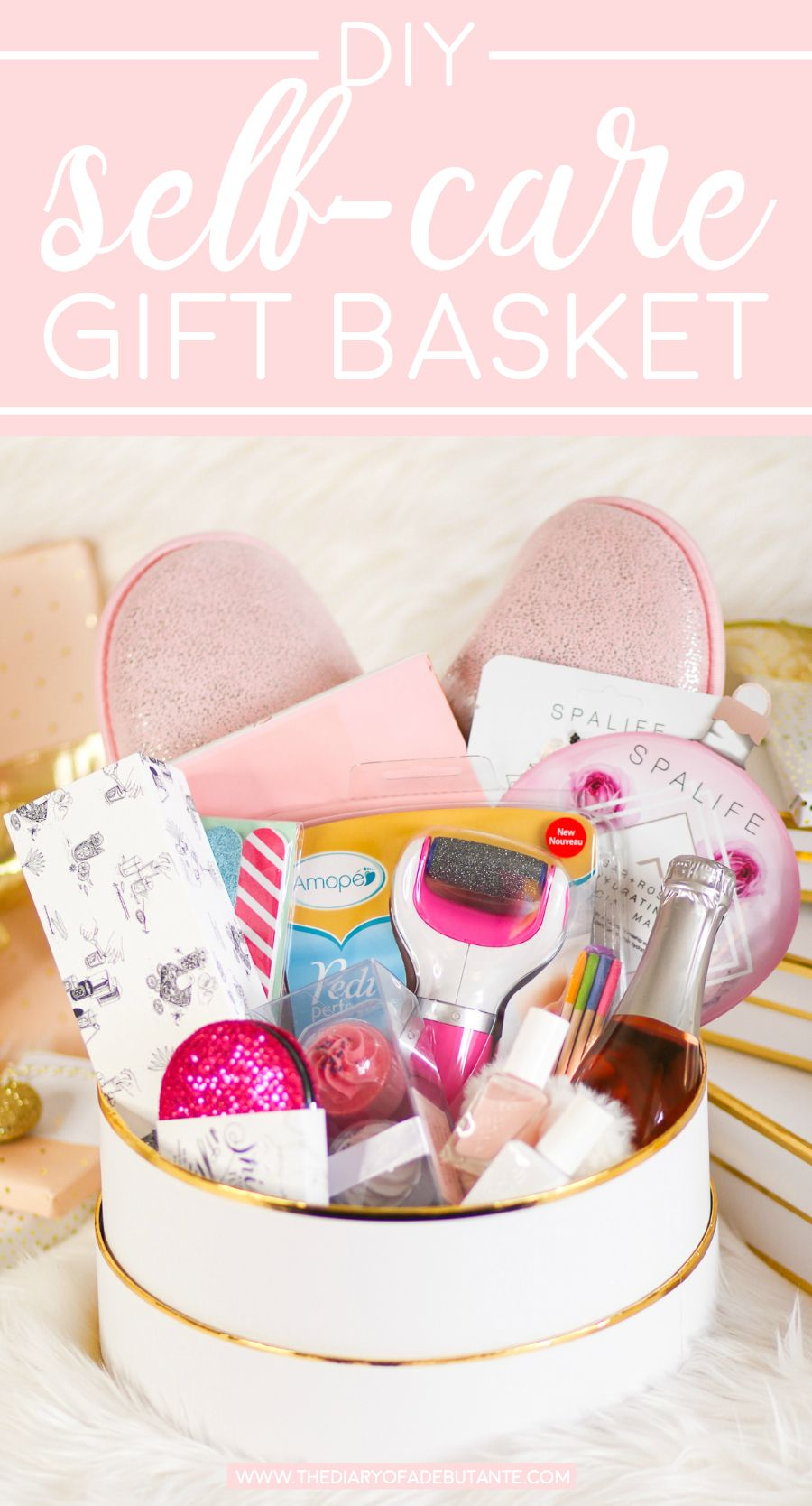 Self Care Ideas For Moms: DIY Self Care Gift Basket: A Collection Of 12 Awesome Self