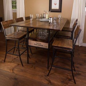 Pub style kitchen table 6 chairs httptvhssfo pinterest pub style kitchen table 6 chairs watchthetrailerfo