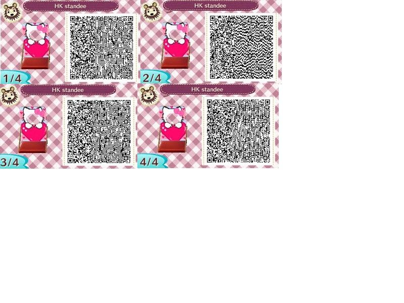 Hello kitty animal crossing qr codes and hymnes for Carrelage kitsch animal crossing new leaf