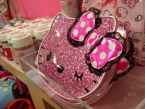 glittery stuff | Hello Kitty Glitter Things Beauty For Fans