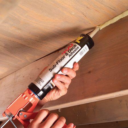 How To Fix Squeaky Floors Fix Squeaky Floors Squeaky Floors Diy Home Improvement