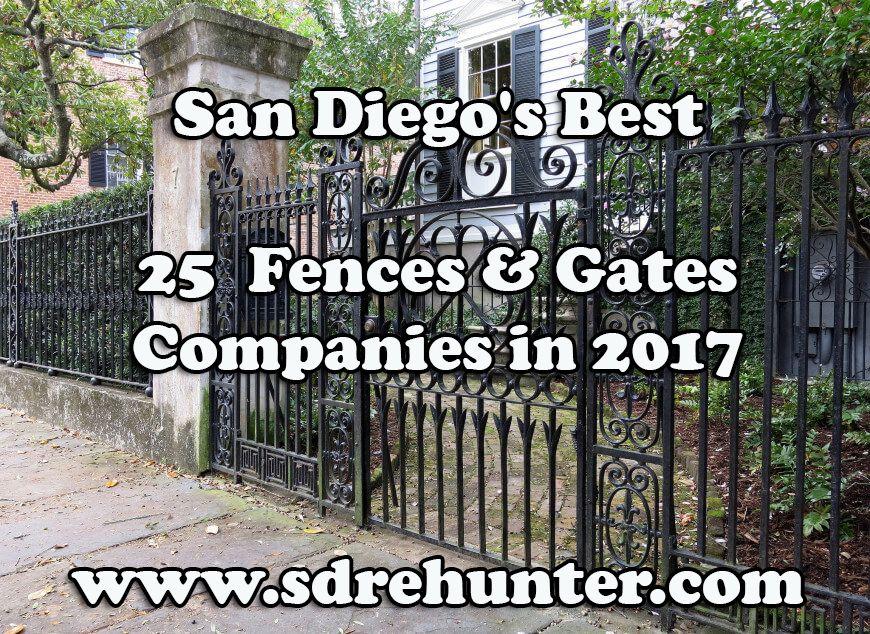 San Diego's Best 25 Fences & Gates Companies 2020 San