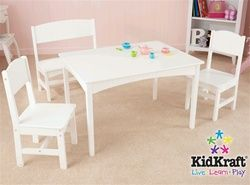Nantucket Table with Bench and 2 Chairs 26110