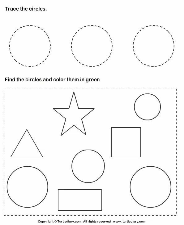 Pin By Sarah Tawfik On Tracing Shapes With Images Shapes