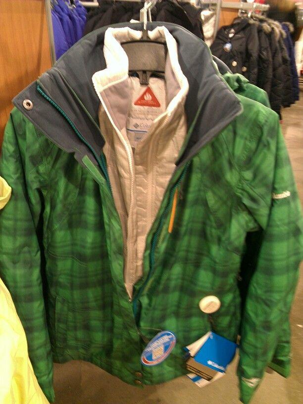 Green/Plaid/Tan linner.....very cool