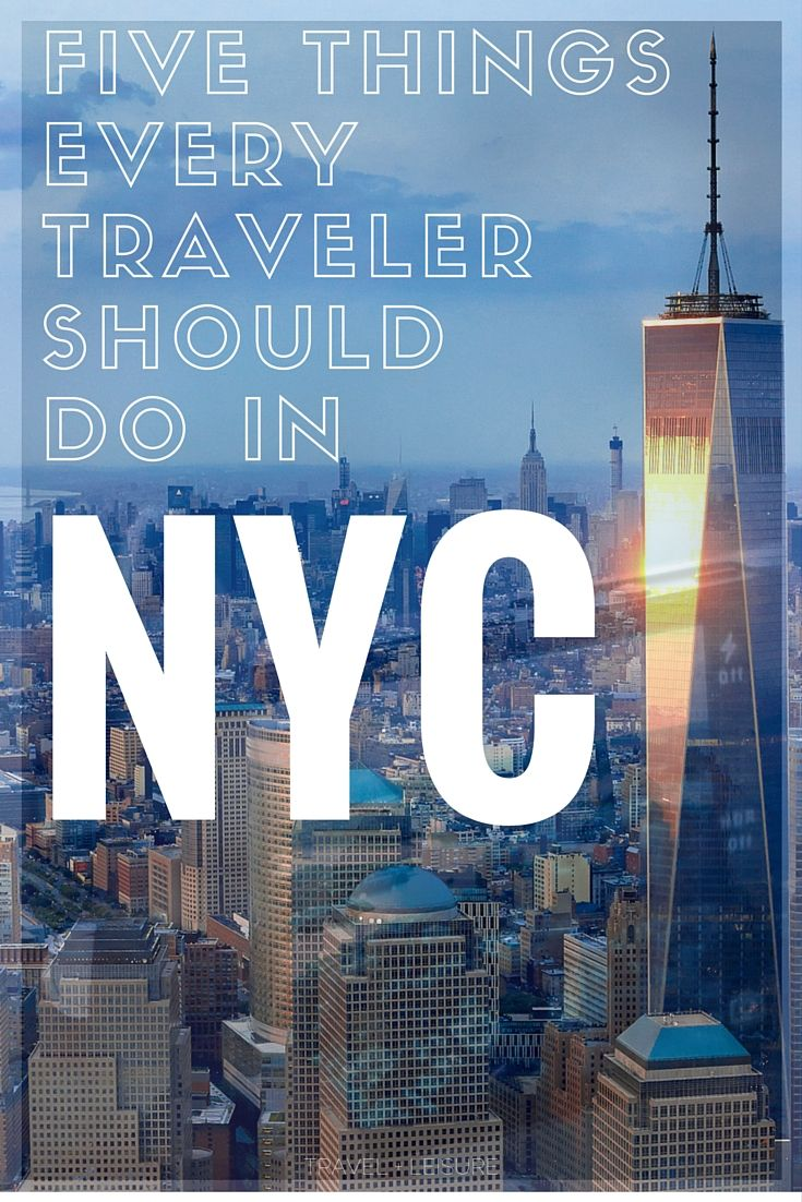 Video: 5 things to do in NYC