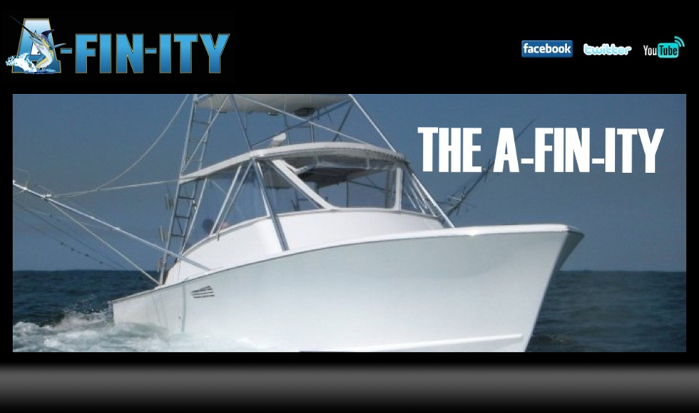THE A-FIN-ITY is a 39Ft. custom cold-molded Billy Knowles sport fishing boat. It is a Fish Raising Machine. Cruise speed of 26kts. AC Below if you need it. Comfortable ride. Ice Machine. We have built in a communication system so you can hear the Captain at all times. We have all top of the line equipment. Shimano reels and rods. Diawa High Speed Light Tackle Reels with Seeker Light Tackle Custom Rods, Quad Electric Teaser Reels.