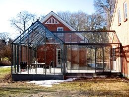 drivadan glastilbygninger