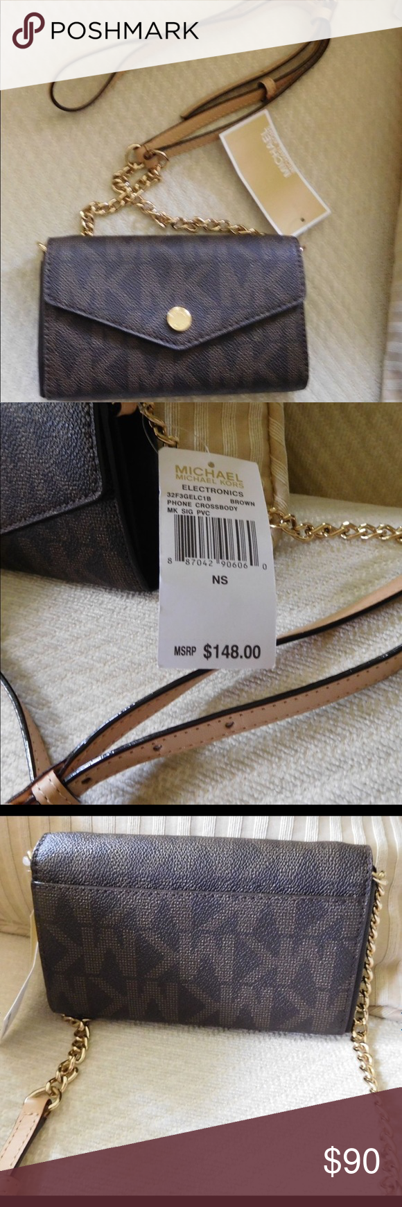 NWT Michael Kors small crossbody purse Authentic and NWT