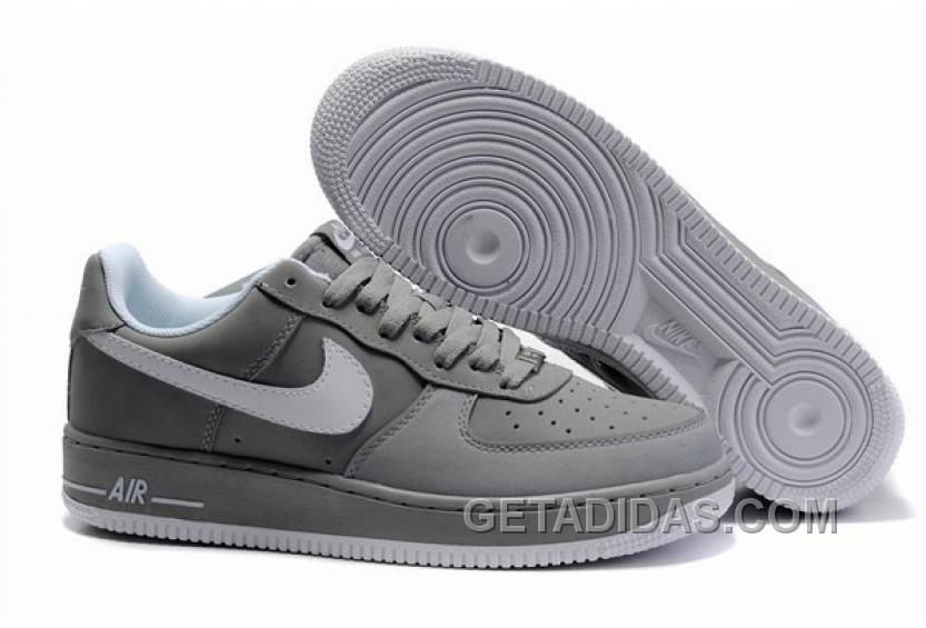 zapatillas nike air force hombre gris