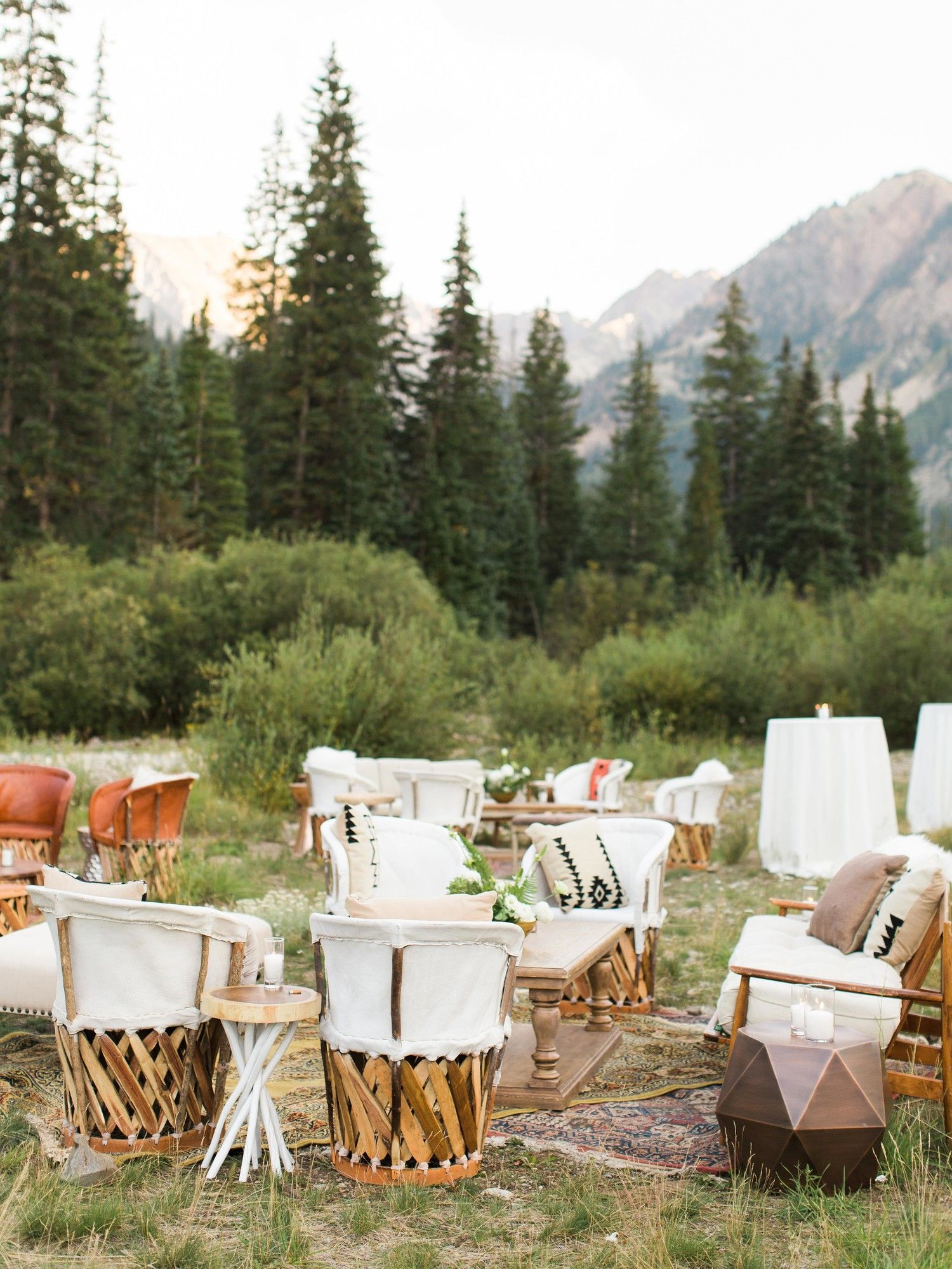 25 Cocktail Hour Ideas from Real Weddings Nontraditional