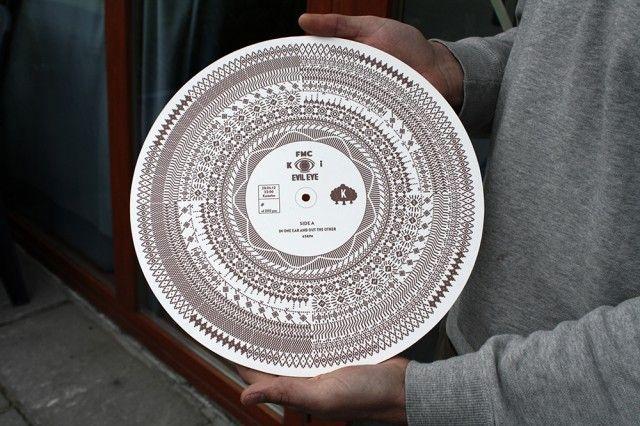 the evil eye - optical audio record