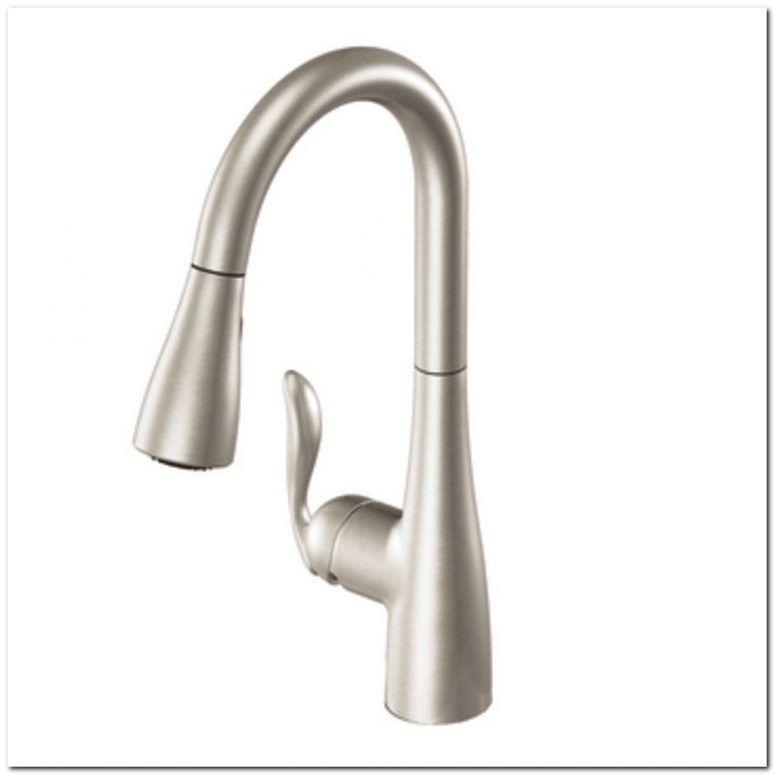 Moen Arbor Kitchen Faucet Brushed Nickel Sinks And Kohler