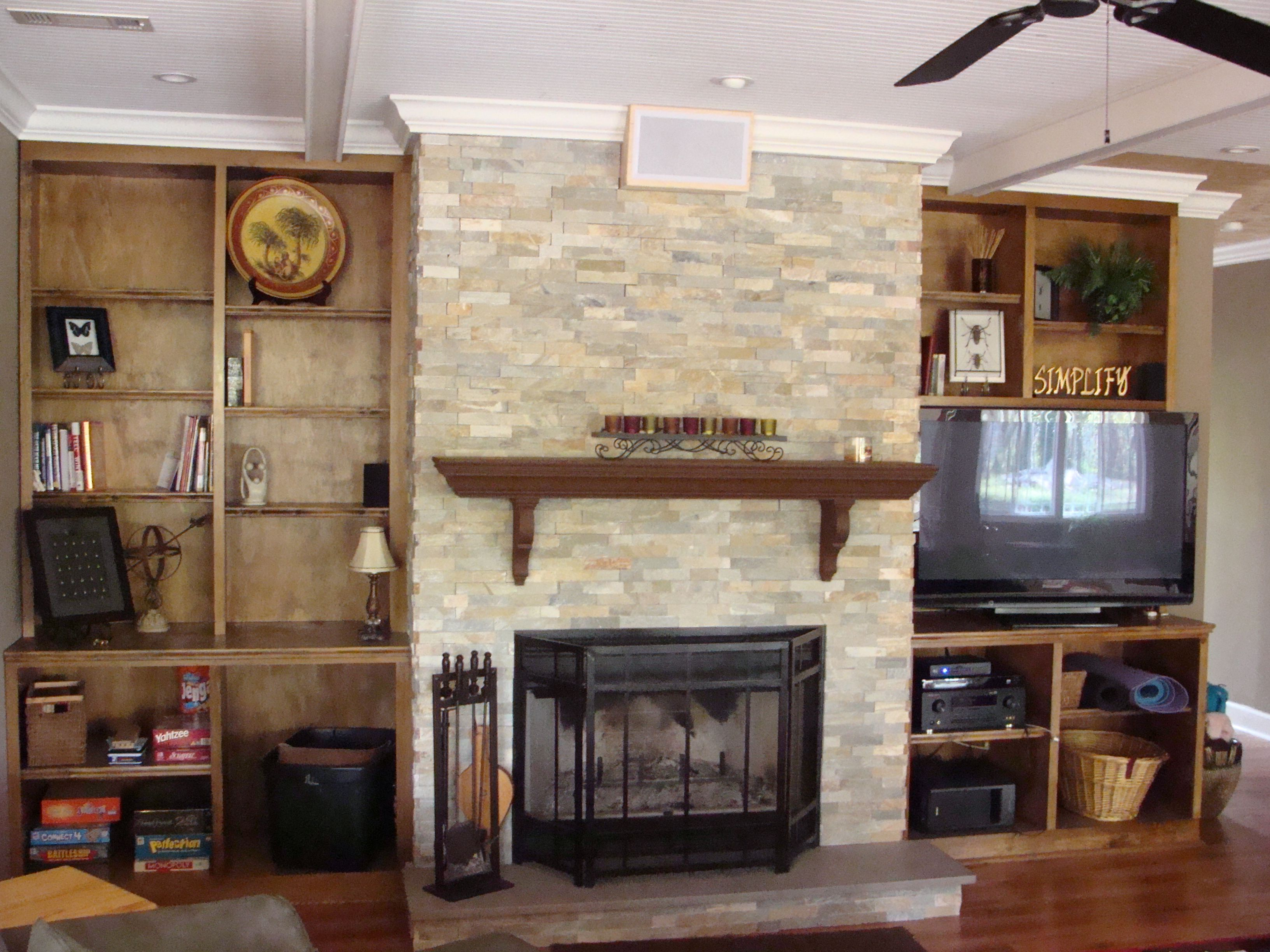 Accessorize Built In Cabinets Living Room Built In Cabinets And Custom Brickwork For Your