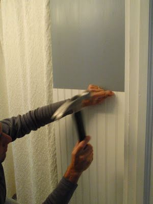 Hammers and High Heels: Bathroom Redo: Installing ...