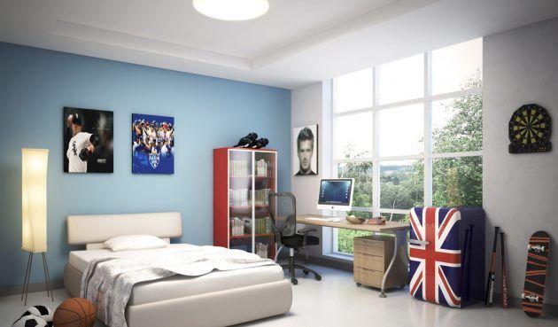 Kühlschrank Jugendzimmer : Kühlschrank für die retro küche designlinie im stil der er