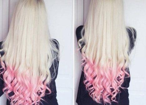 Hair Color Ideas For Brunettes Colored Hair Peach Hair Pink