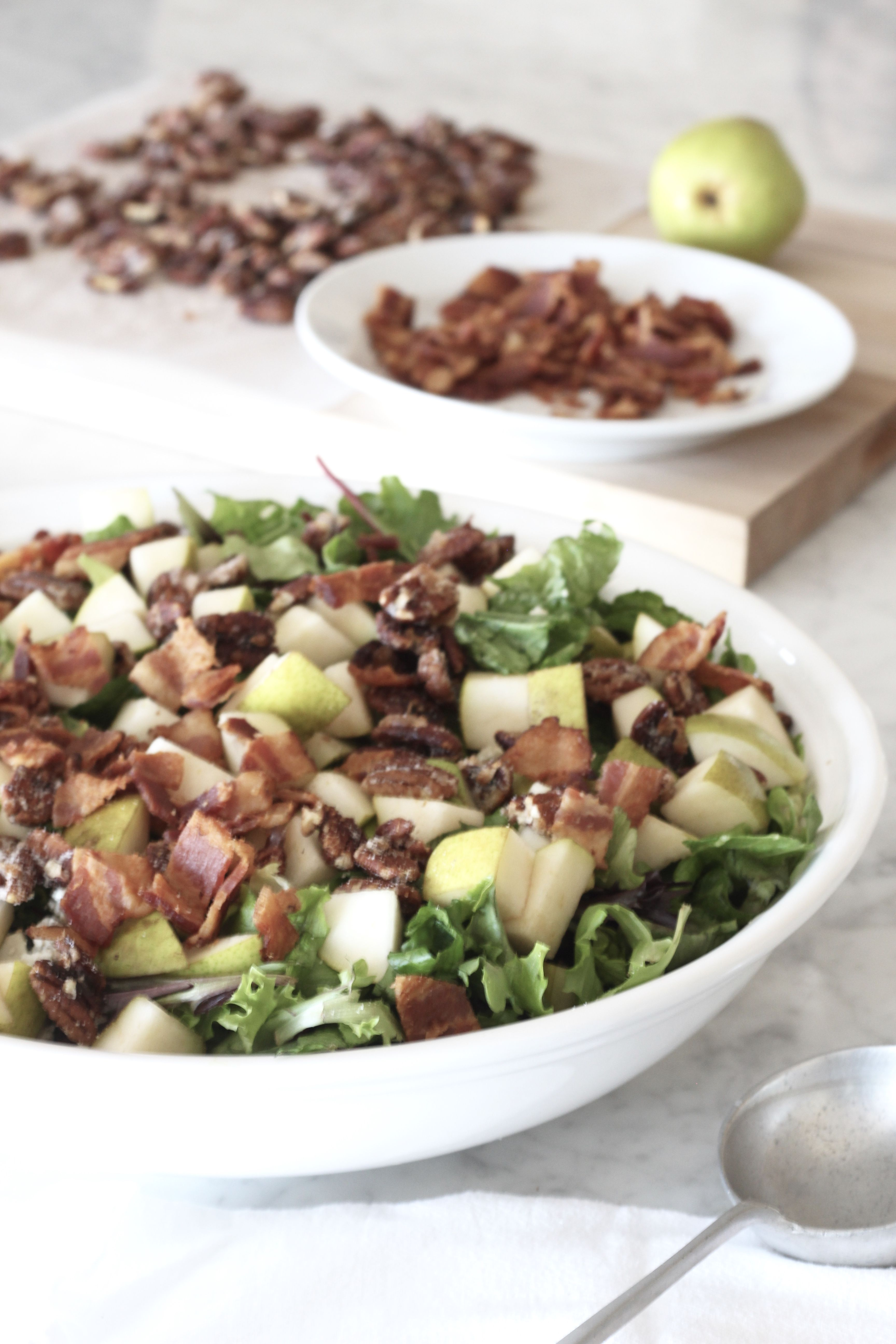 Pear And Pecan Salad With Sweet Red Wine Vinaigrette A Bountiful Kitchen Recipe Pecan Salad Red Wine Vinaigrette Sweet Red Wines [ 5184 x 3456 Pixel ]
