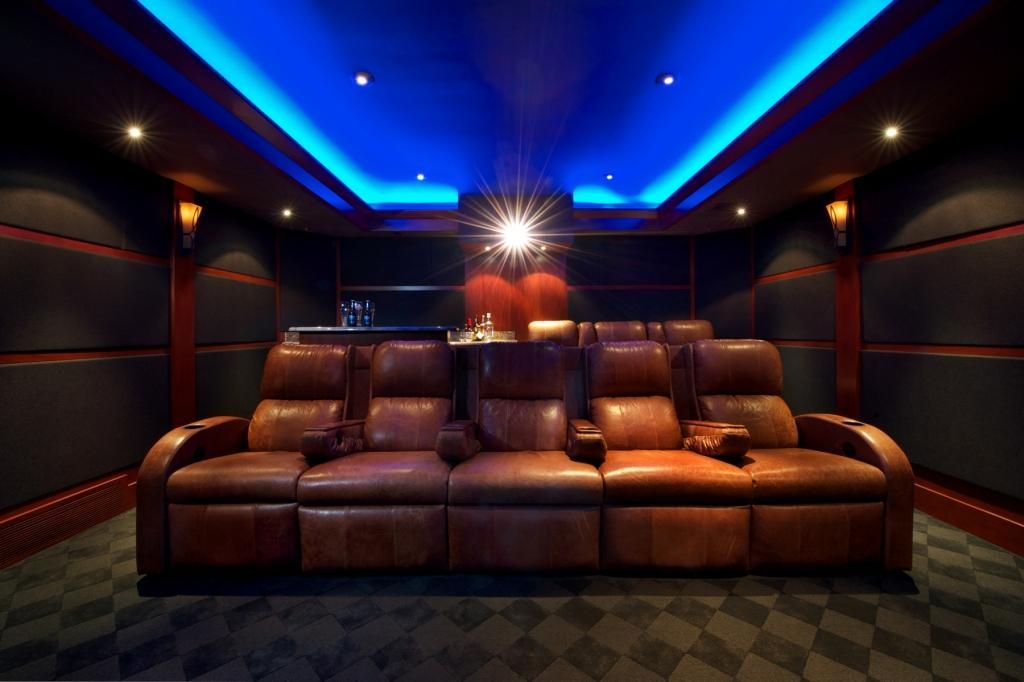Home theater acoustic panels pictures.