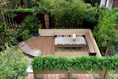 Decoración de patios pequeños traseros - Para Más Información
